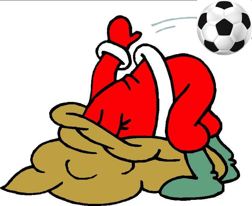 Weihnachtsmann Und Fussball Clipart Ankarafondesc Cf