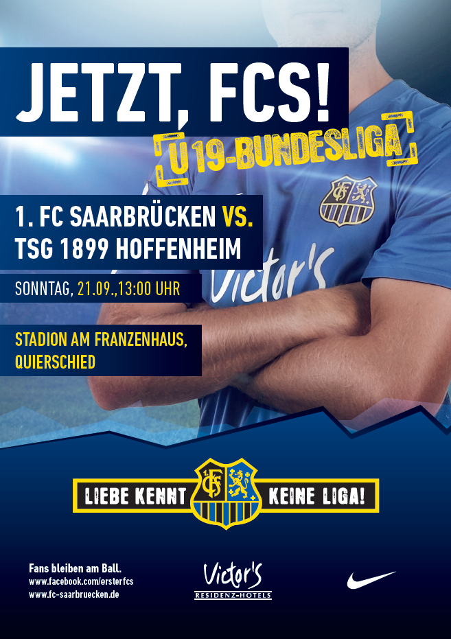 U19 Bundesliga FCS - 1899 Hoffenheim
