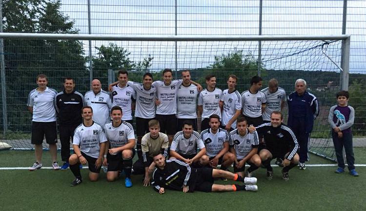 Gemeindepokalsieger Zweite 13.07.2015 HP